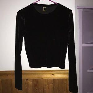 Black Velvet Longsleeve